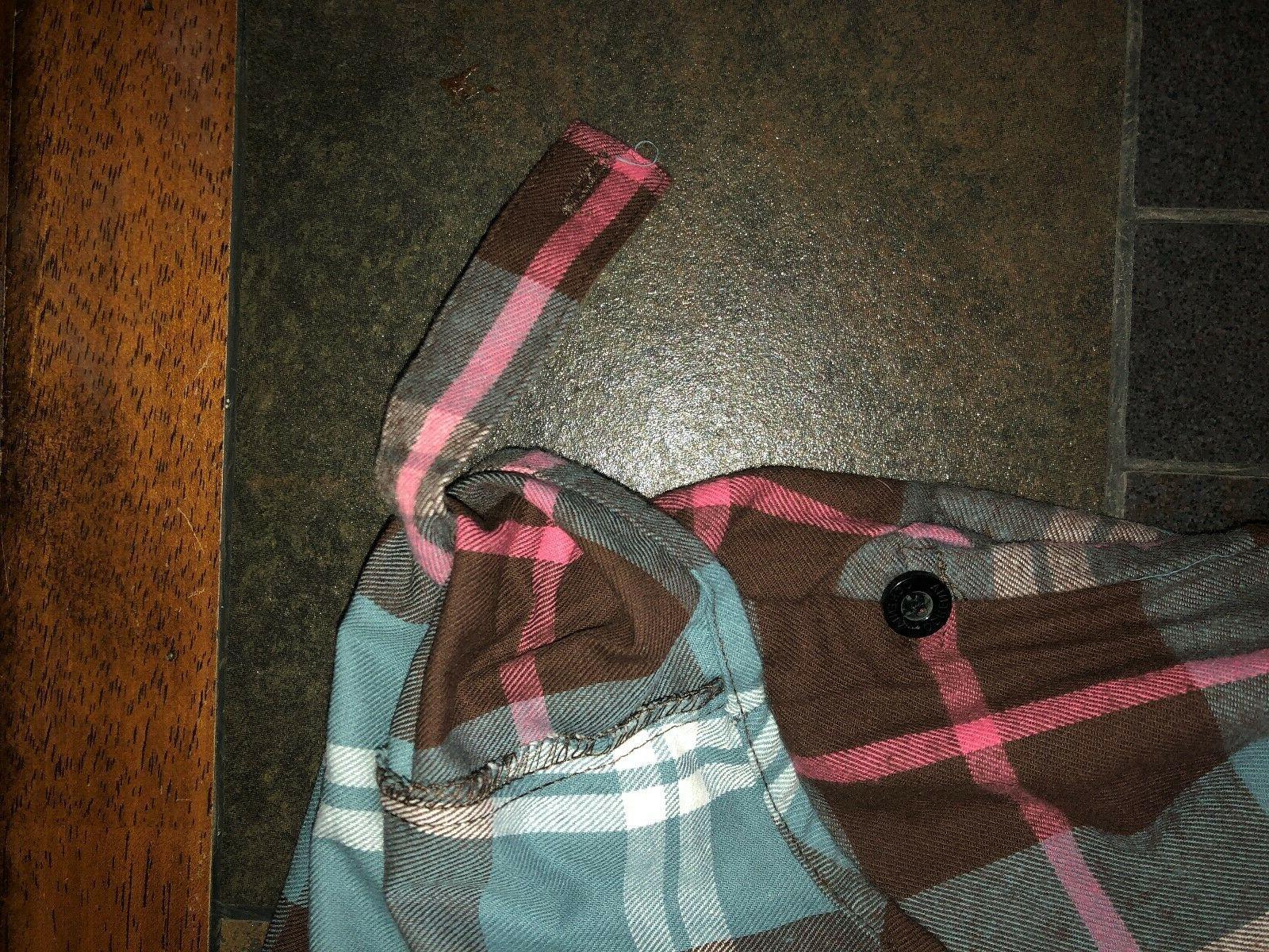 Juniors' Ochenta Long Flannel Size XXL Runs Small