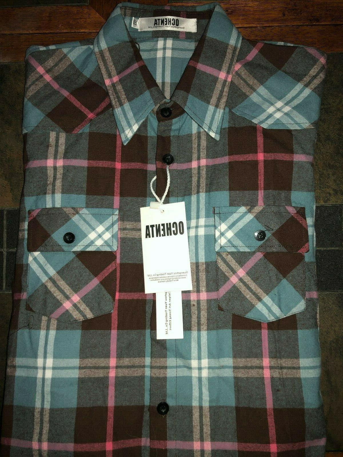 juniors long sleeve flannel button down shirt