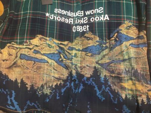 Akoo Keystone L/S Bayberry Flannel Shirt