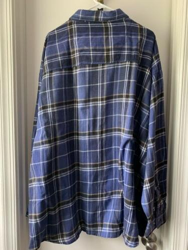 King Size Tall Flannel With Tag