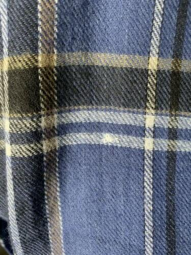 King Big & Tall 4XL Lightweight Flannel Shirt New With