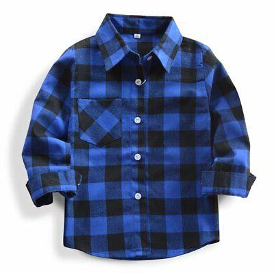 little big boys long sleeve button down