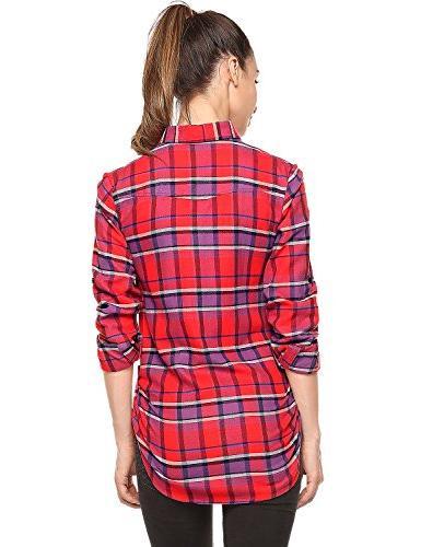 Match Button Down Flannel Shirt