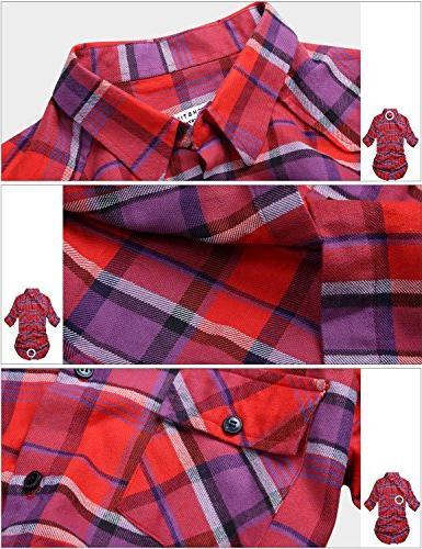 Match Button Collar Shirt #B003