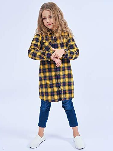 OCHENTA Button Down Shirt Navy - 5-6Y