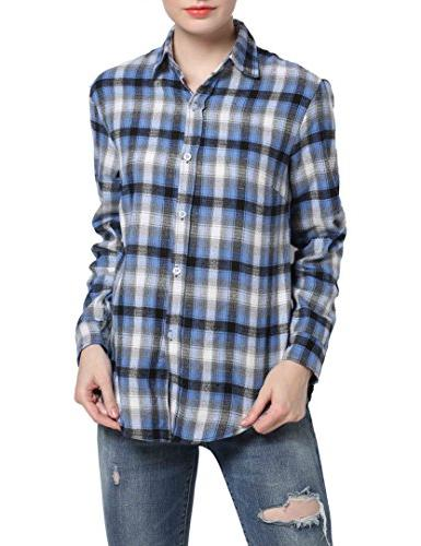 GUANYY Long Casual Button