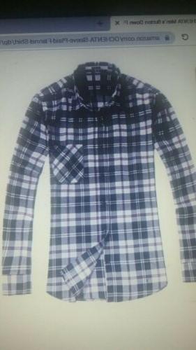 Ochenta Shirt New in Plaid Size XXL Reg Price $24.99