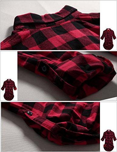 Match Long Plaid