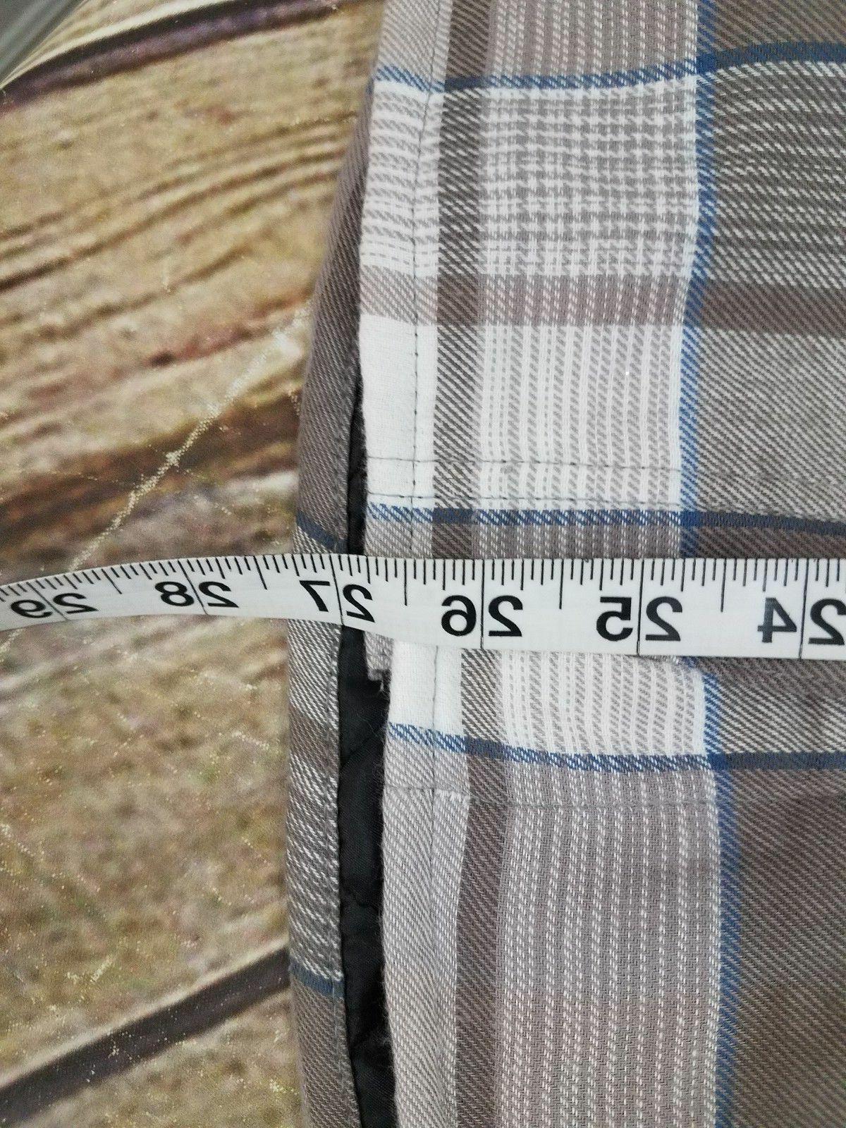 Wrangler Lined Shirt Hood Plaid NWT