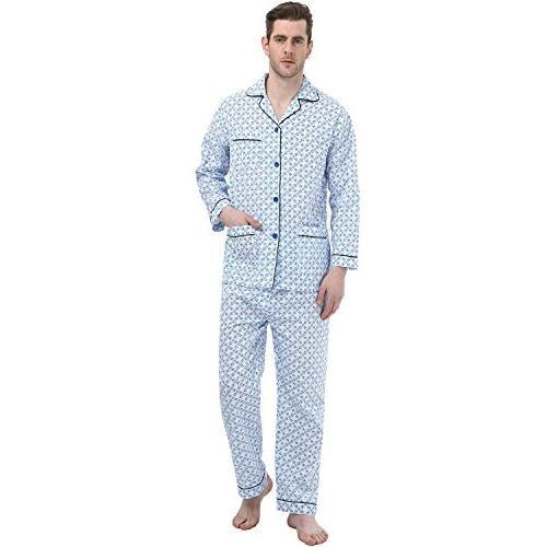 long sleeve sleepwear cotton pajamas