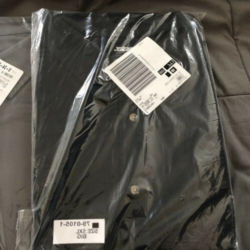 Lot Flannel 5XL Shirts Black New