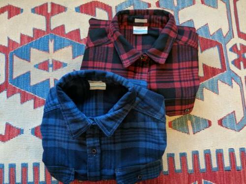 lot of 2 deschutes river heavyweight flannel