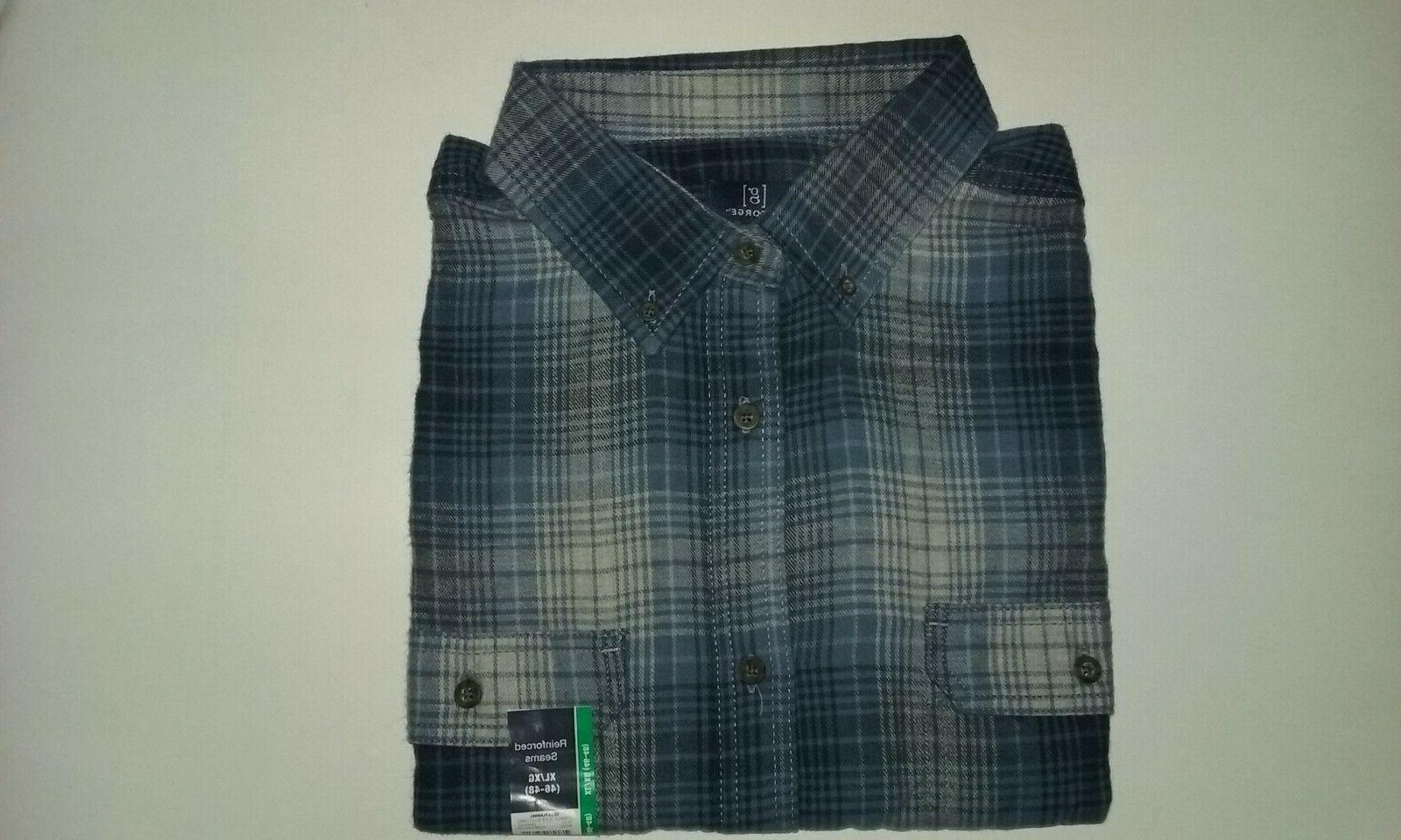 Lot George Flannel - -