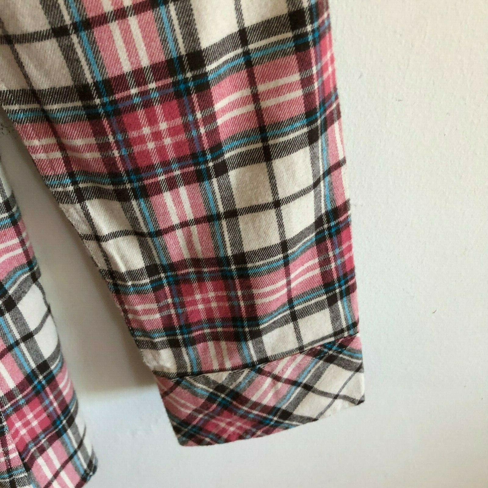 Match Matchstick Check Flannel Shirt US 10 Large Sz 5X