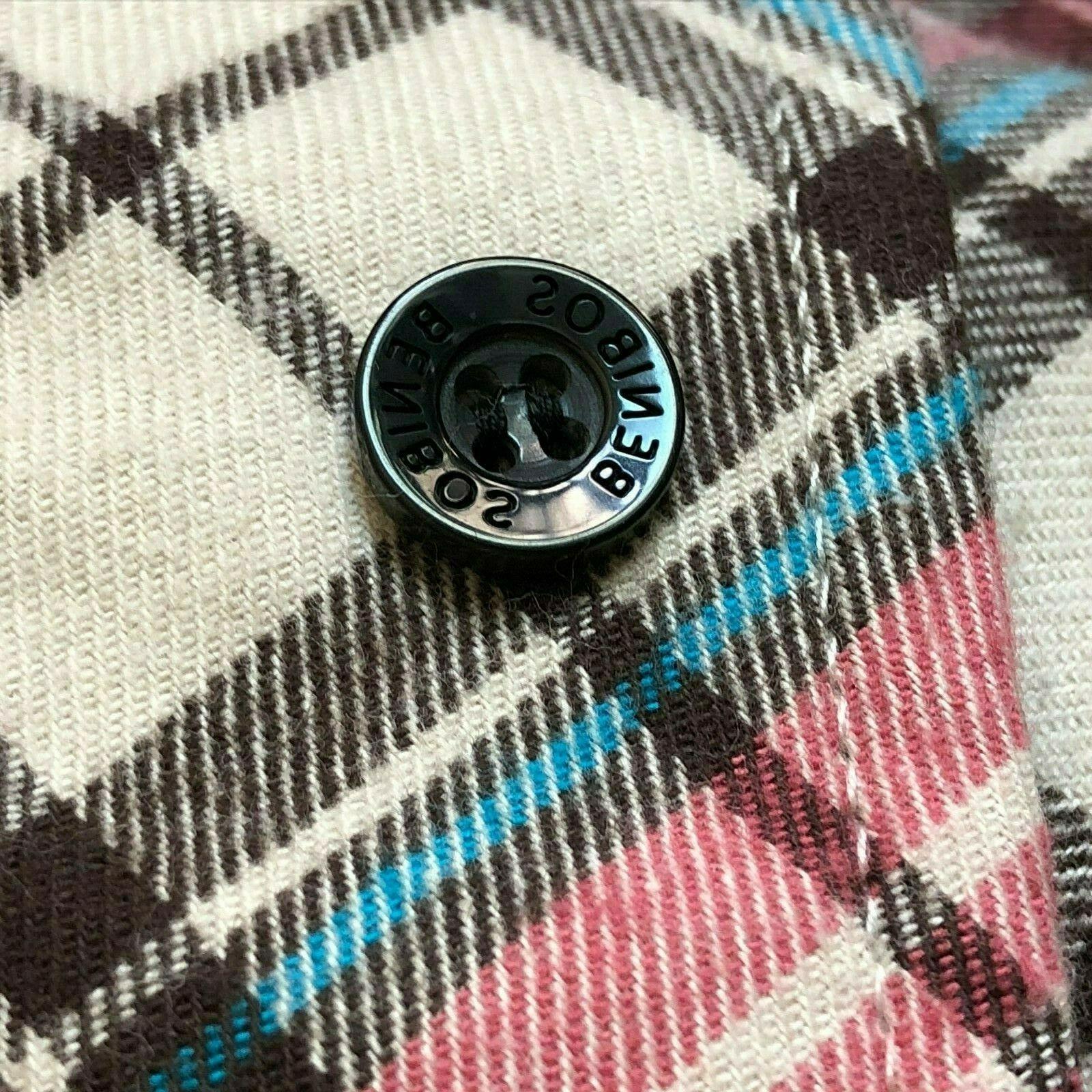 Match Check Flannel 10 Sz NWT