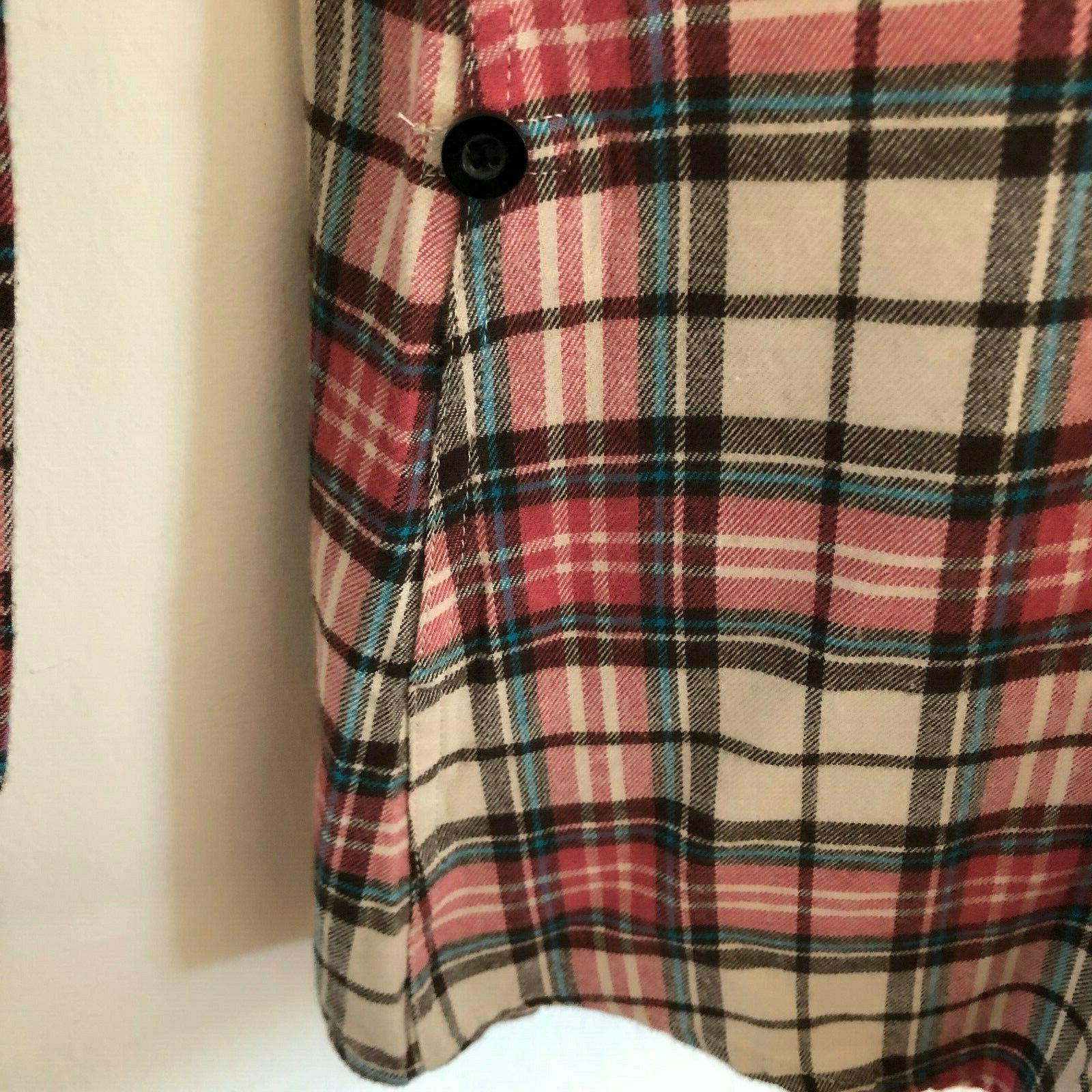 Match Flannel US 10 Sz 5X NWT