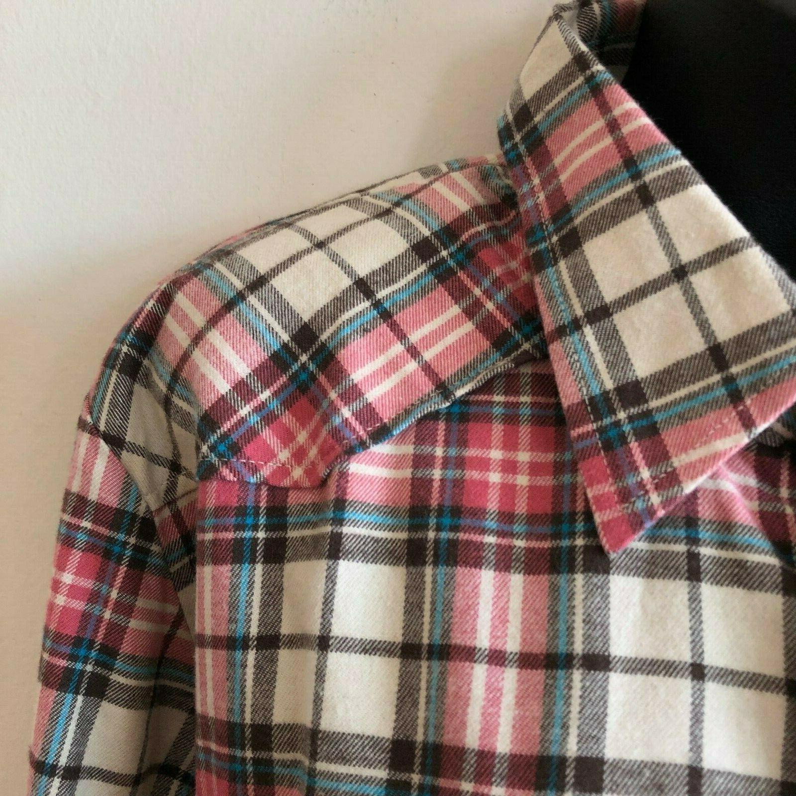 Match Matchstick Flannel 10 Sz 5X NWT