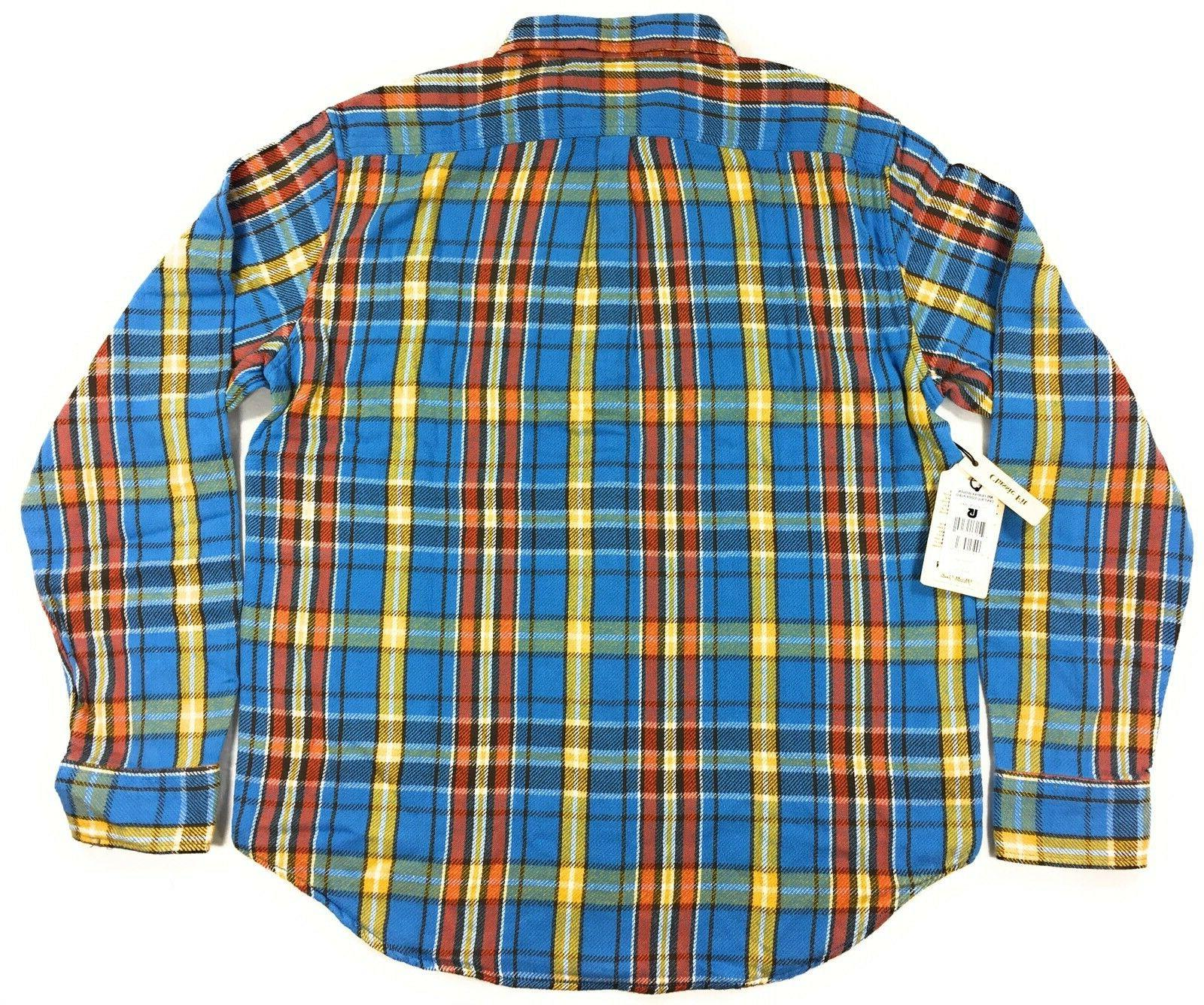 Burton MB Flannel Shirt Essex Plaid Long