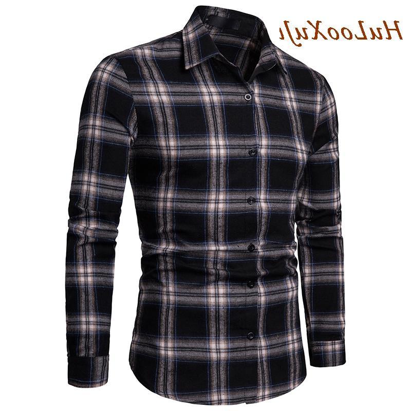 HuLooXuJi <font><b>Shirt</b></font> Autumn <font><b>Shirt</b></font> Comfort Fit