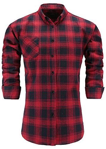 men s 100 percent flannel cotton slim