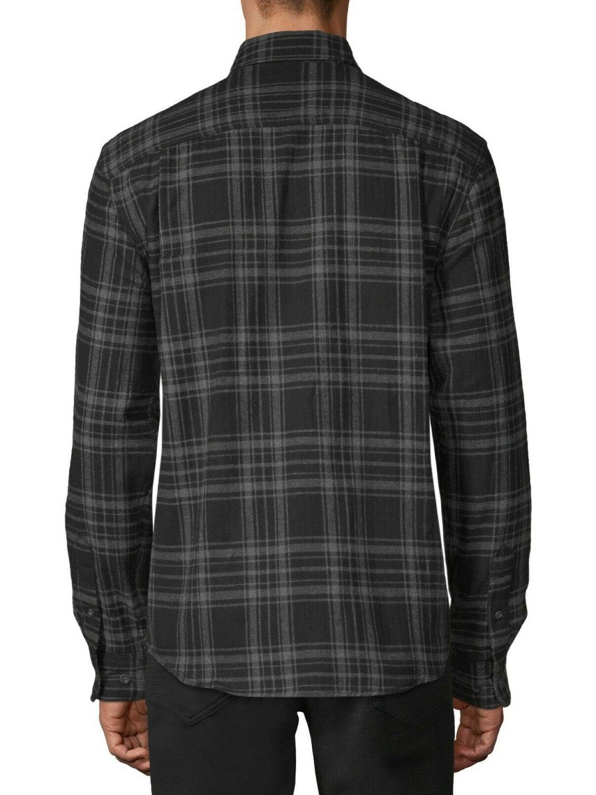 George and Big Men's Long Sleeve Super Soft Shirt, up to size