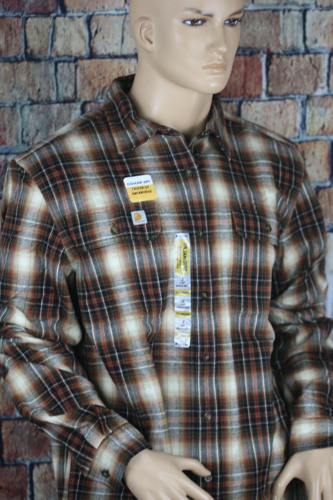 Carhartt Men's & Tall Shirt, Large/Tall