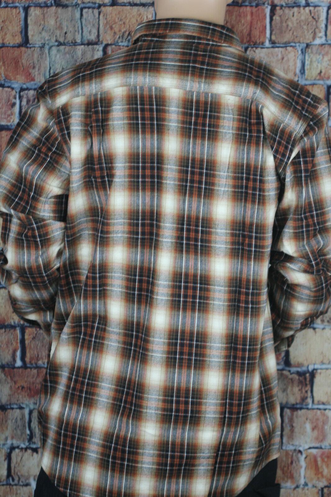 Carhartt Tall Hubbard Flannel Shirt, Sequoia, Z1
