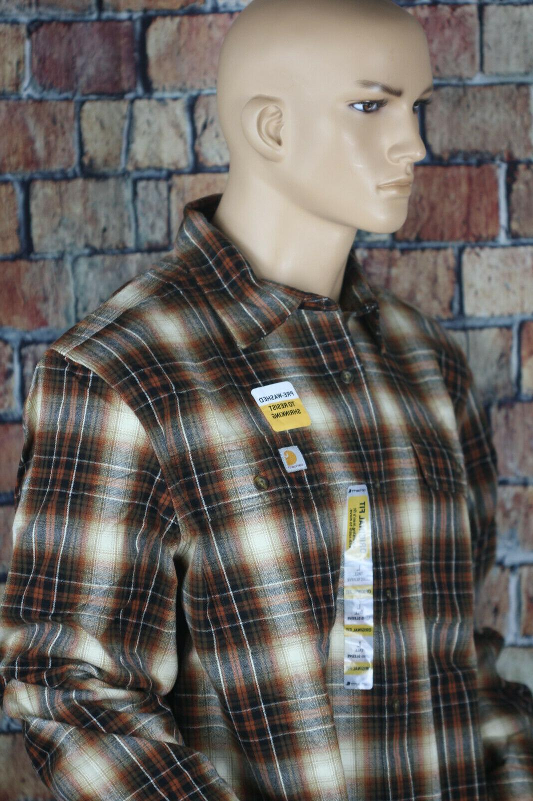 Carhartt Big & Tall Hubbard Shirt,