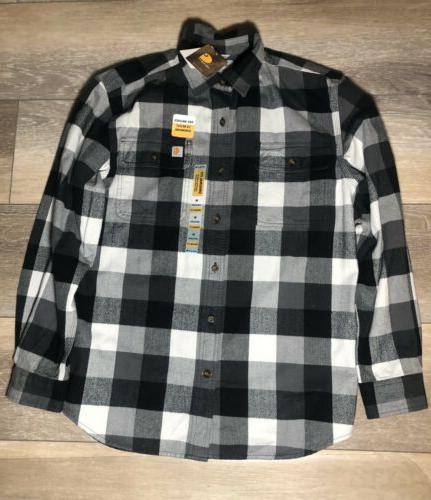 men s black flannel sizem