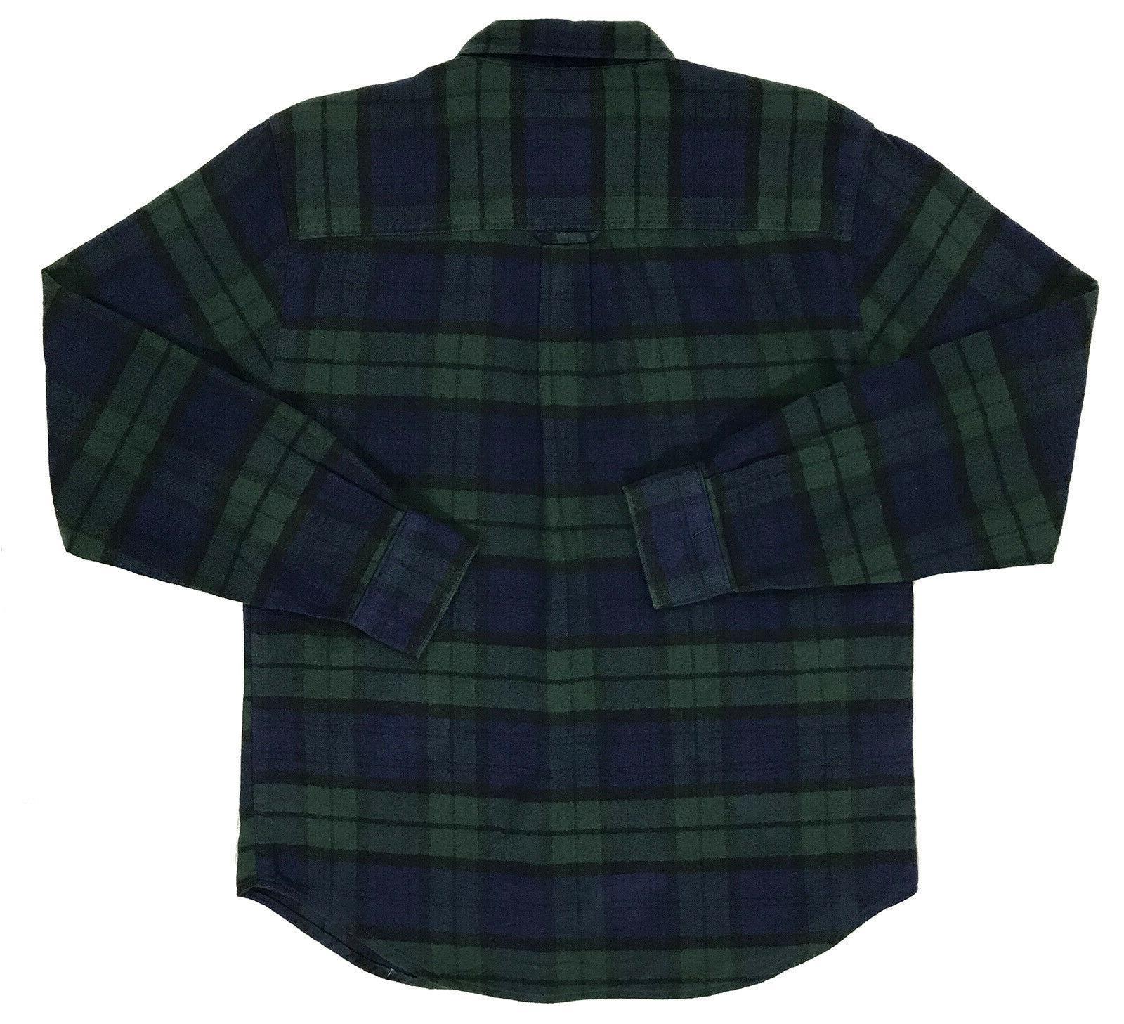 Black Plaid Shirt XLarge NEW WoW