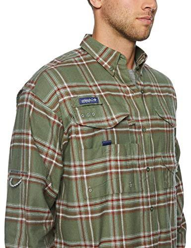 Columbia Men's Bonehead Flannel Long Shirt,