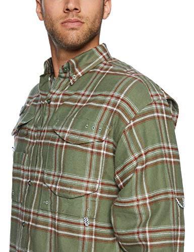 Columbia Long Sleeve Shirt, Cypress Large