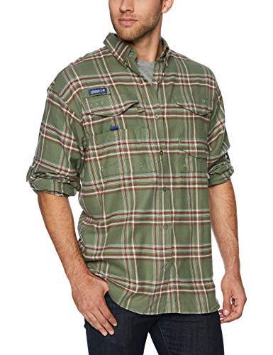 men s bonehead flannel long sleeve shirt