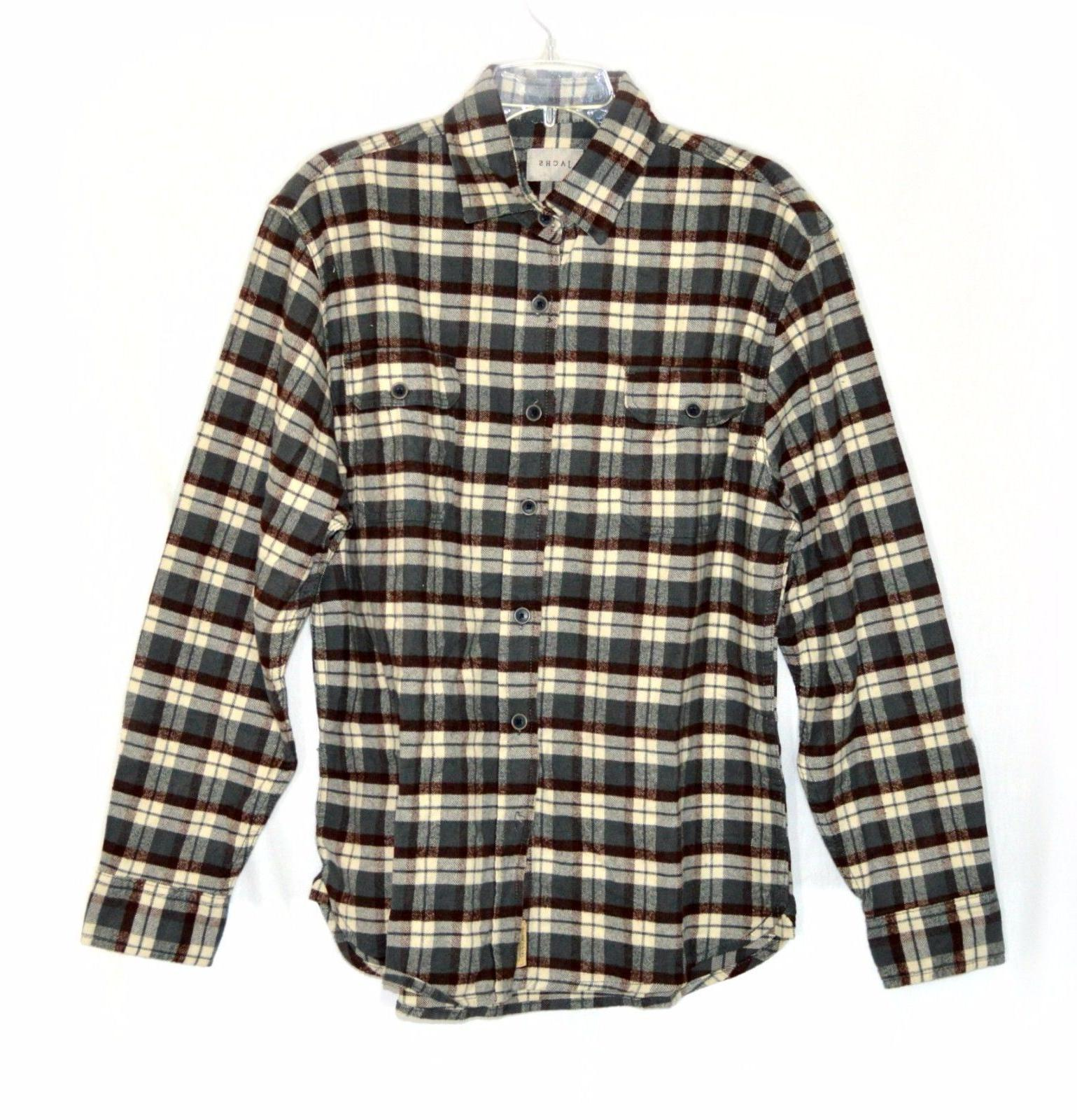 Jachs Flannel Work Shirt VARIETY Size&Color