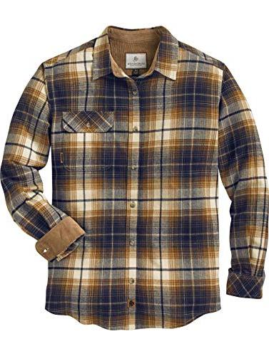 men s buck camp flannels arrowood stone