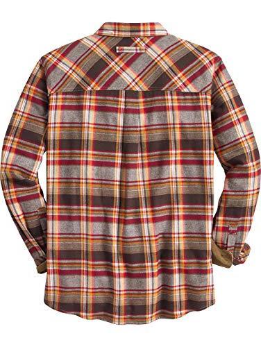 Legendary Men's Camp Flannels Plaid Large