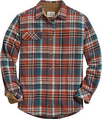 men s buck camp flannels plaid