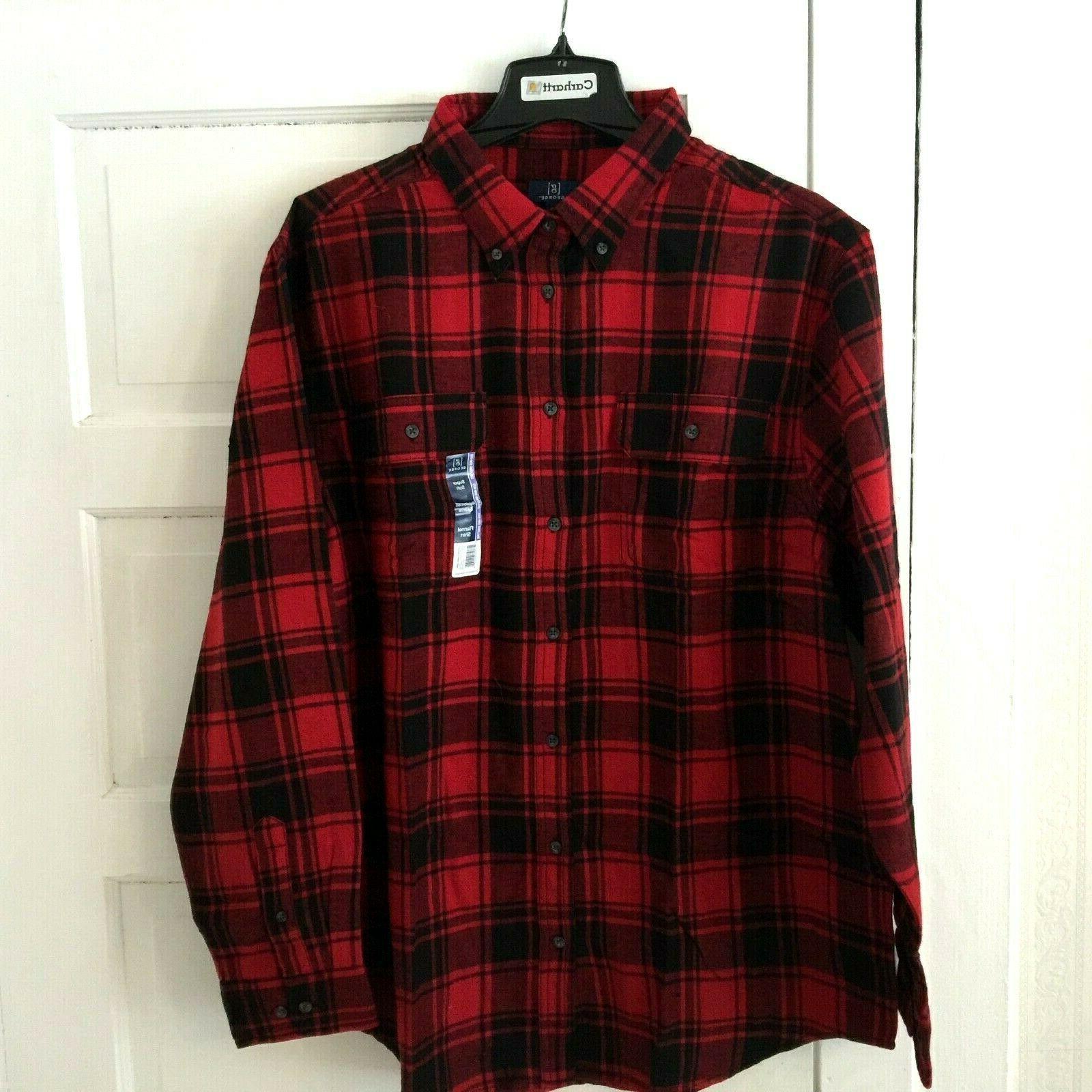 men s buffalo plaid flannel shirt plus
