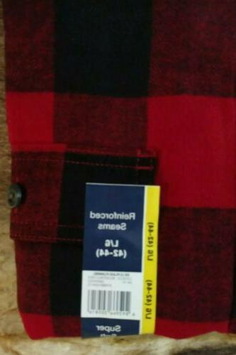 Red/Black Large XL NWT