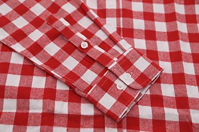 Deborri Button Down Shirt Red2 XXXL