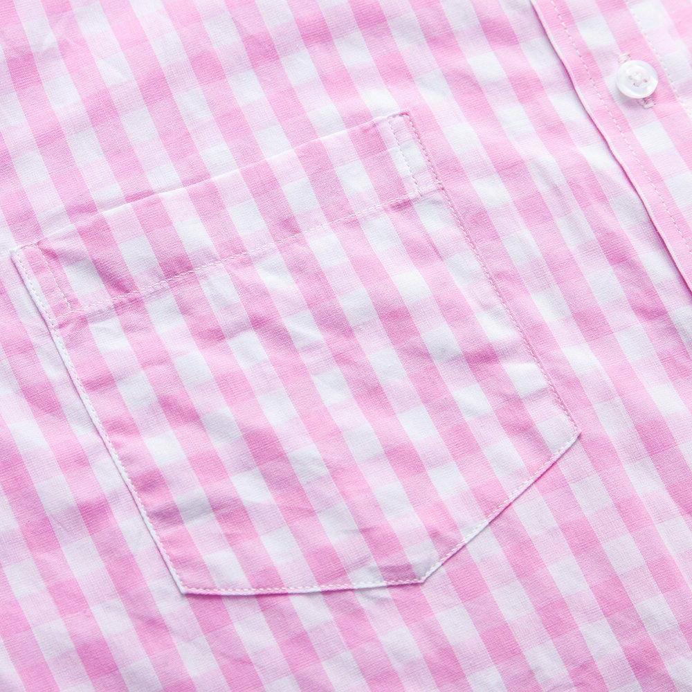 XI PENG Men's Cotton Short Shirts