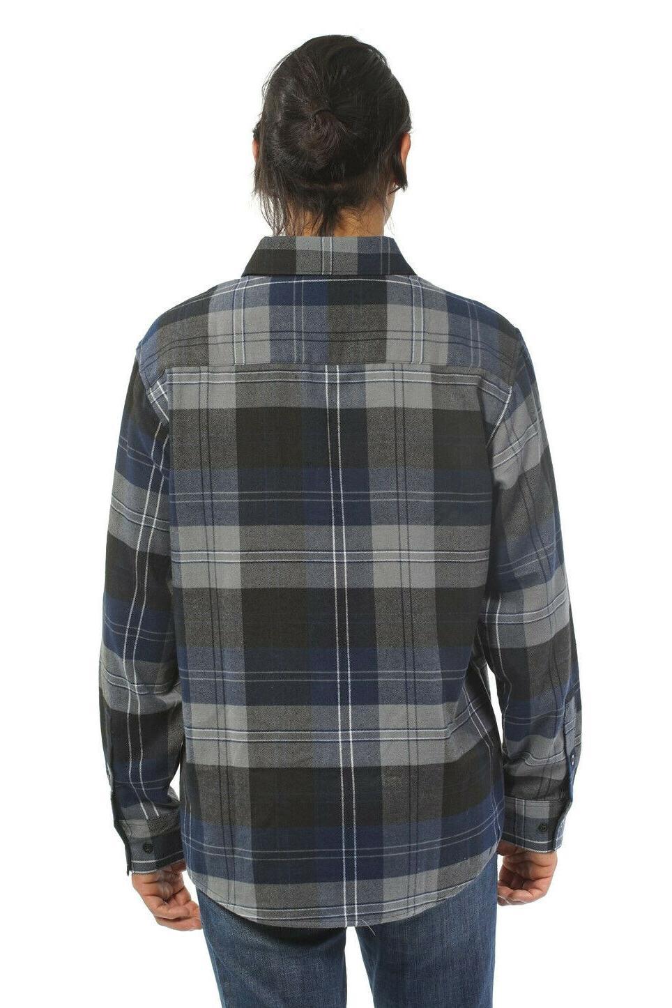 YAGO Men's Flannel Down Blue/2E