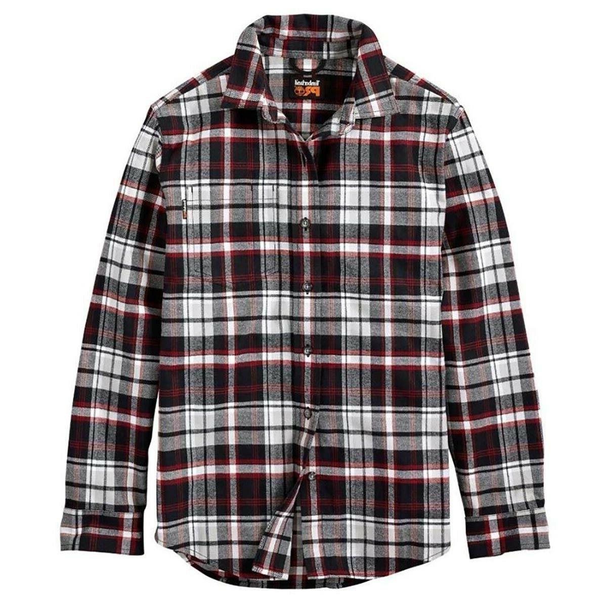 men s classic red r value flannel