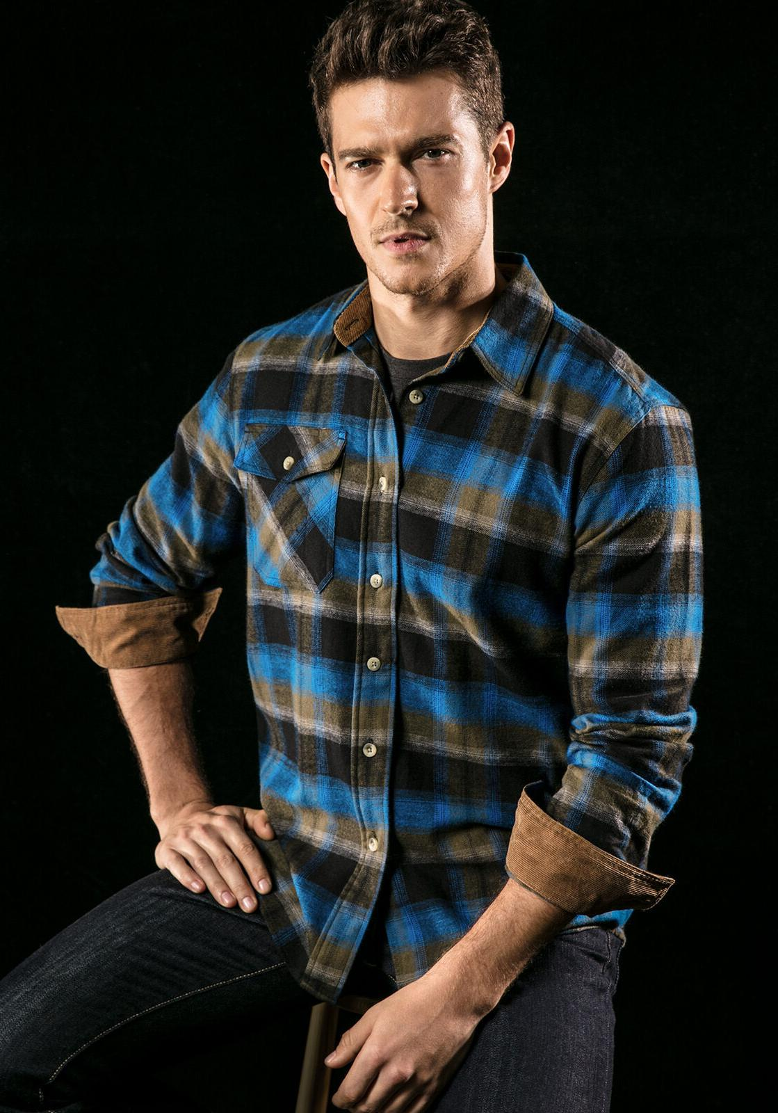 Shirt, Sleeve Plaid Shirt,