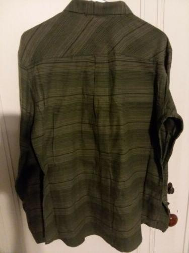 COLUMBIA MEN'S FLANNEL SLEEVE FISHING M NEW