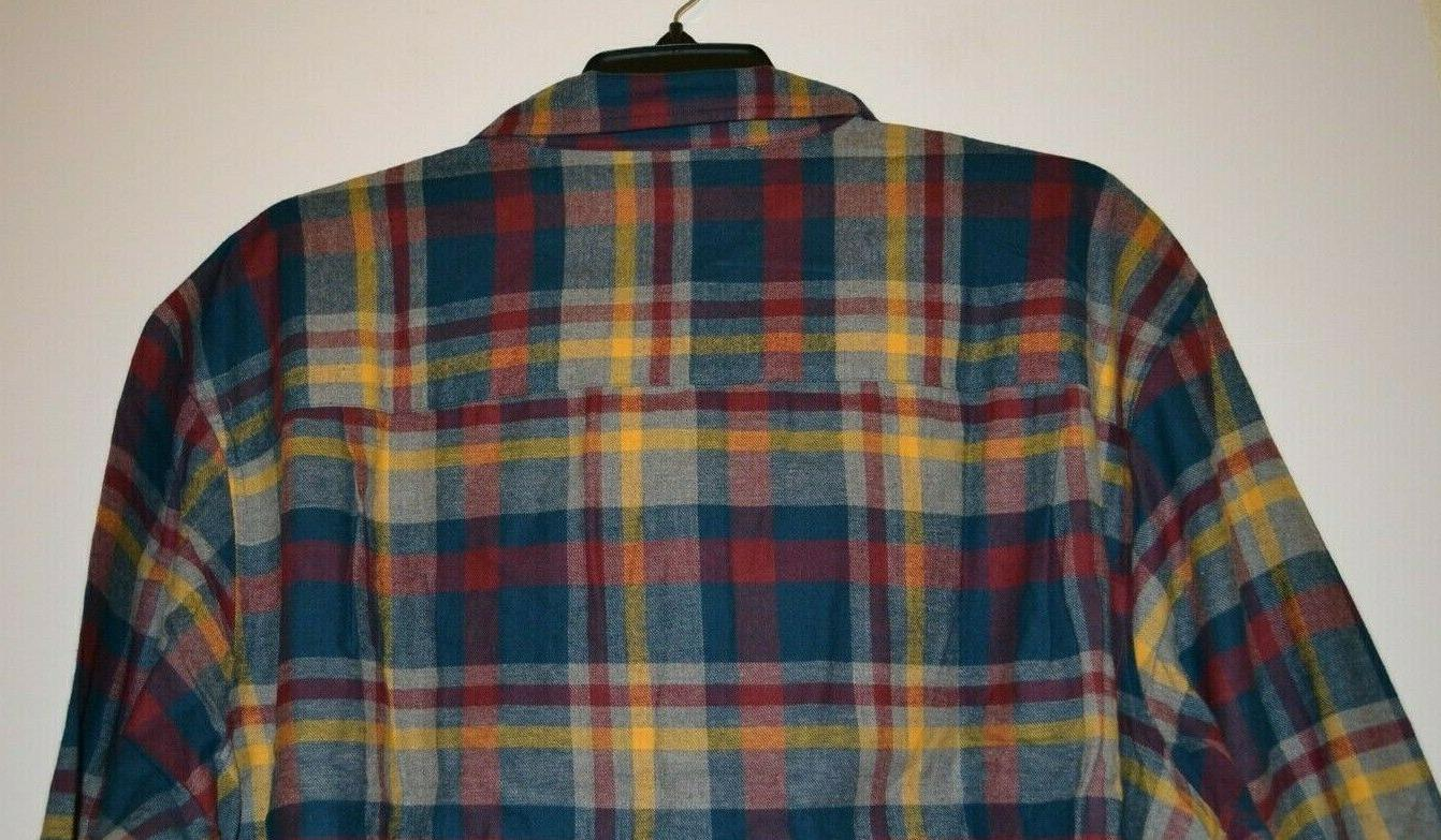 MEN'S SHIRT AND SIZE: 3XLT COLOR: RED