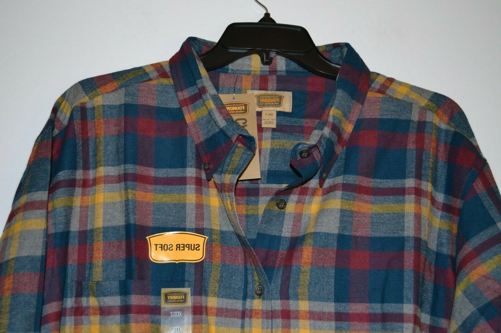 men s flannel plaid shirt big
