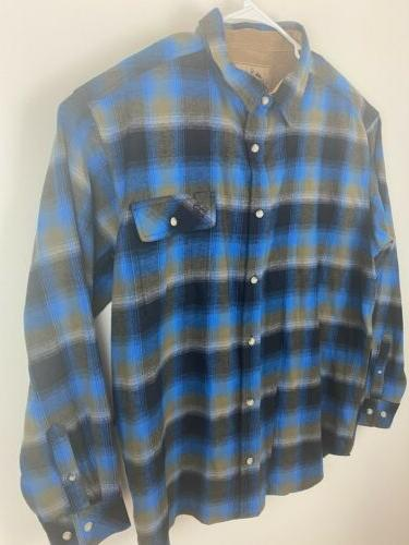 Legendary Whitetails Men's Flannel Shirt XXL Never