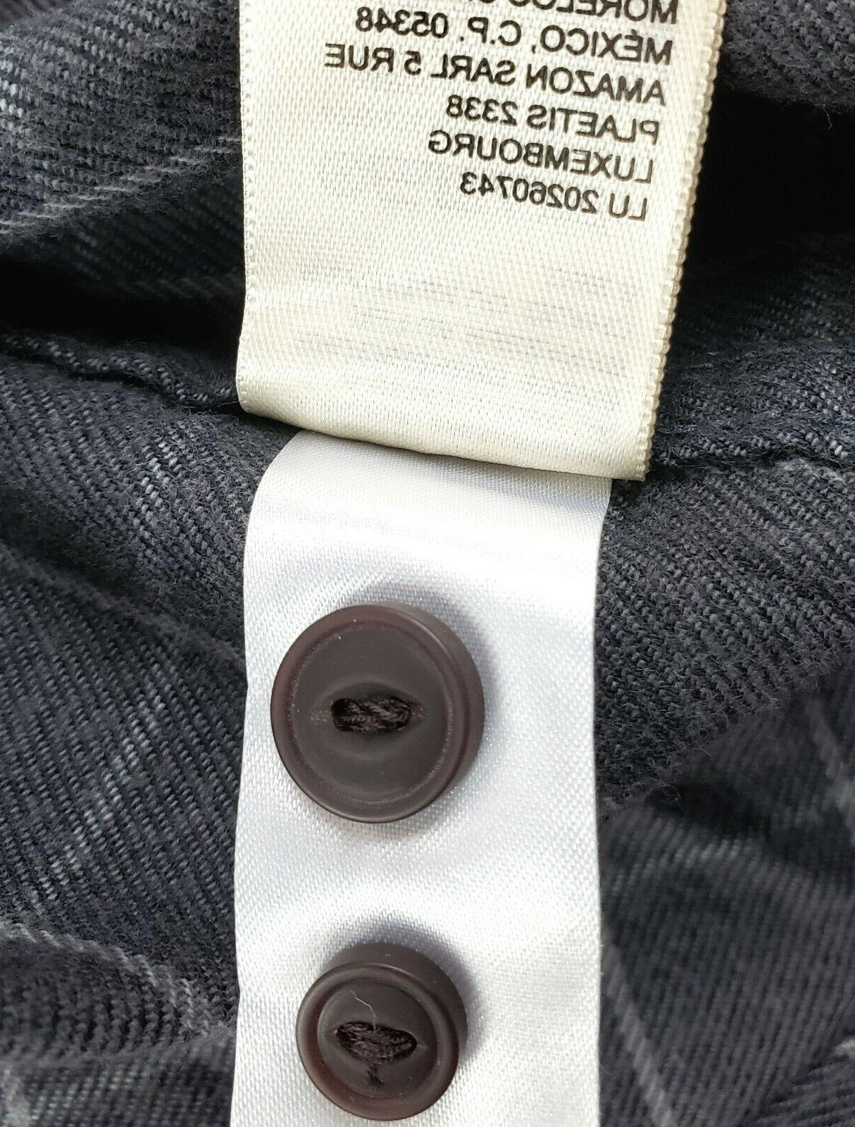 Goodthreads Flannel Shirt Slim-Fit Long-Sleeve, L