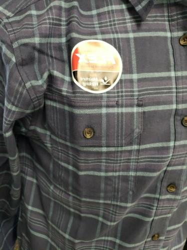 DICKIES MEN'S FLANNEL SHIRT MID-WEIGHT WL650 MOISTURE WICKING